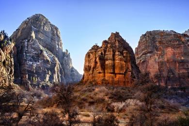 <h5>Zion Canyon Utah_DZ66334 </h5>
