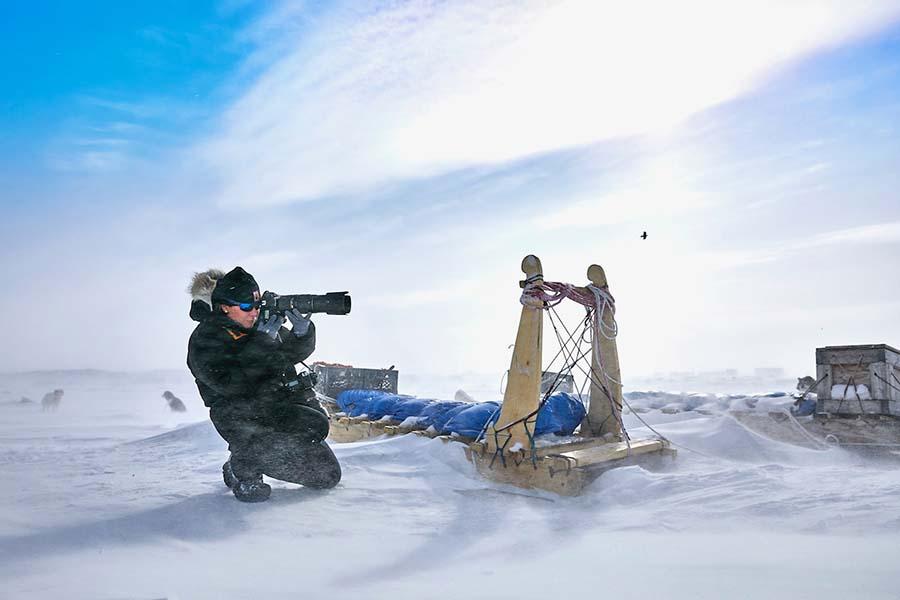 Michelle valberg in Iqaluit Nunavut